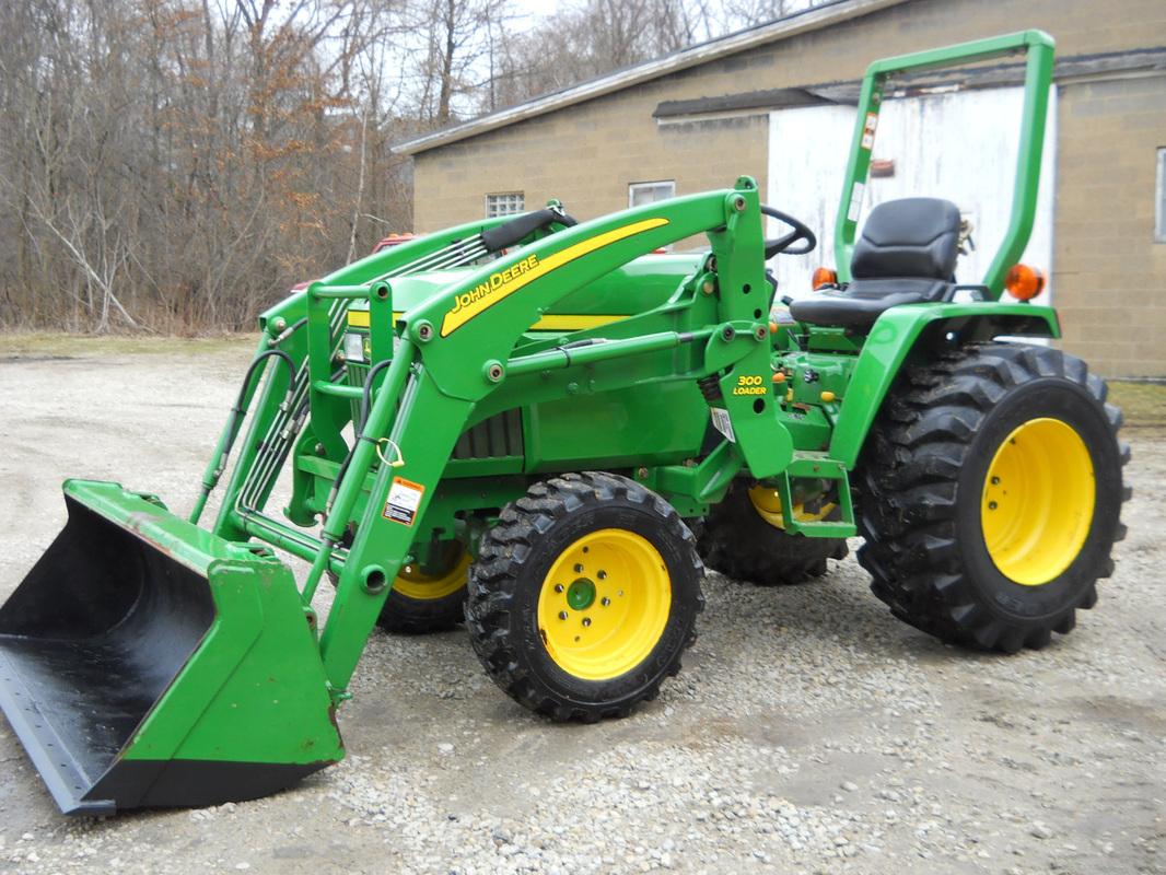 4X4 For Sale >> 2006 JOHN DEERE 790 4X4 COMPACT FARM - Home